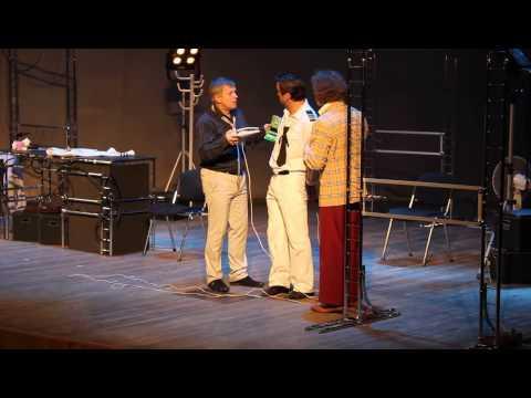 Смешно о грустном. Премьера спектакля «Блеф» состоялась в Тобольске