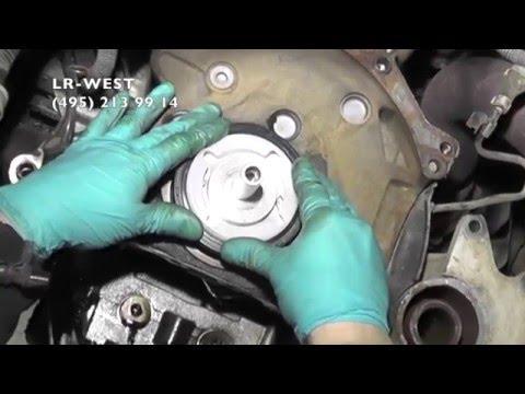 Замена сальника коленвала на дизельном двигателе Ленд Ровер Фрилендер 2