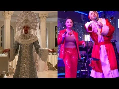 Звездный Новый Год! Поздравления от Анастасии Волочковой